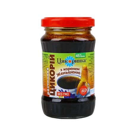 Разтворим екстракт на цикория с женшен, Цикоринка, 200 гр.