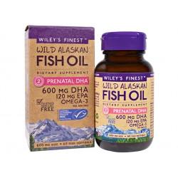 Концентрирано рибено масло, за бременни, 60 капсули