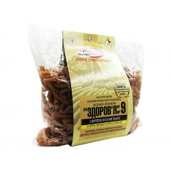 Pasta Zdorovje №9, with linseed, 400 g