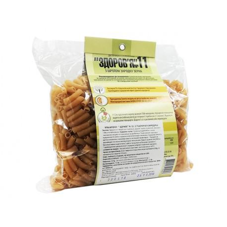 Макарони Здраве №11, с пшеничен зародиш, 400 гр.