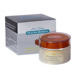Moisturizing face cream with milk, honey and propolis, DSM, 50 ml