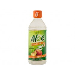 Напитка Алое, праскова, Drink For Life, 500 мл.