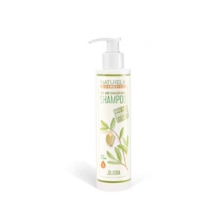 Dry and Damaged Hair Shampoo, Naturela, 195 ml