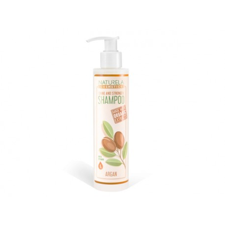 Shine and Strenght Shampoo, Naturala, 195 ml