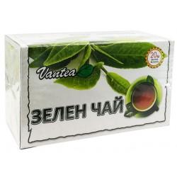 Зелен чай, натурален, Вантеа, 20 филт. пакетчета