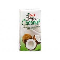 Organic Creamed Coconut, Cecil, 200 g