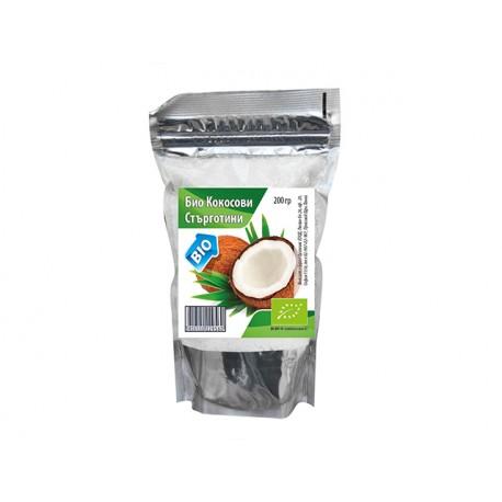 Органични кокосови стърготини, Бурел Органикс, 200 гр.
