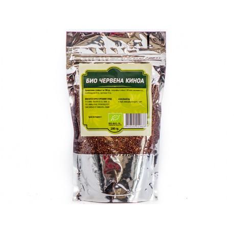 BIO Red Quinoa, Burel Organics, 200 g