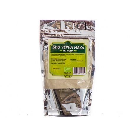 BIO Black Maca, powder, Burel Organics, 100 g
