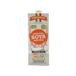 BIO Soya milk with calcium, natural, 1 liter