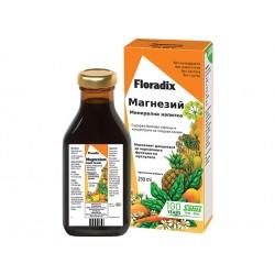 Магнезий, минерална напитка, Floradix, 250 мл.
