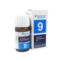 Mineral salt №9, Natrium Phosphoricum D6, Bioherba, 230 tablets