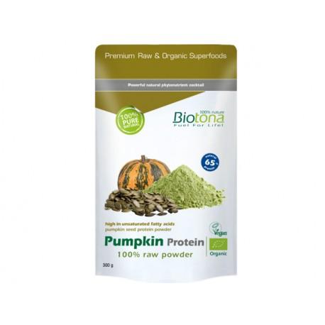 Organic Pumpkin seed protein, powder, Biotona, 300 g