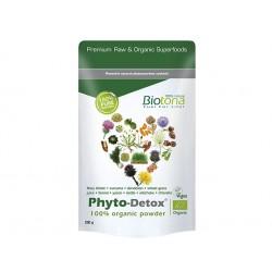 Phyto-Detox, organic plants powder, Biotona, 200 g