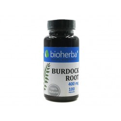 Burdock - root extract, Bioherba, 100 capsules