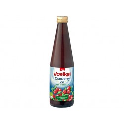 BIO Cranberry juice, natural, Voelkel, 330 ml