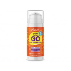 Go Nourished, body lotion with orange and cocoa, 100 ml