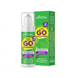 Go Vitalized, face cream with acai, andiroba and opuntia oil, 30 ml