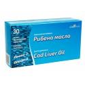 Cod Liver oil (Omega-3), 1000 mg, PhytoPharma, 30 capsules