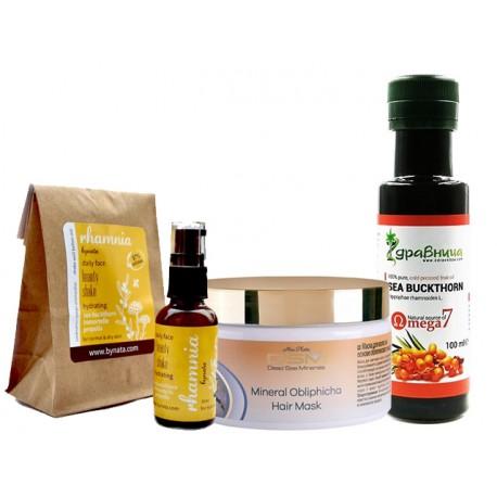 """""""Sea Buckthorn"""" - Healthy-cosmetic package"""