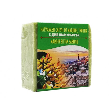 Soap from Mandarin, Turkey with wild pistachios, 120 g