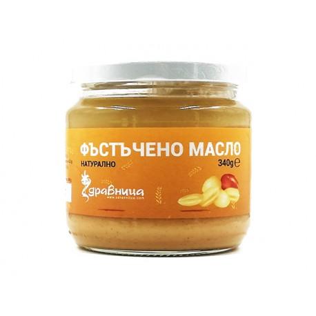 Фъстъчено масло, натурално, Здравница, 340 гр.