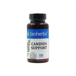 Candida Support, digestion support, Bioherba, 100 capsules