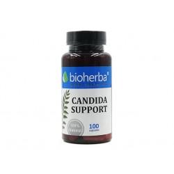 Canduda Support, за добро храносмилане, Биохерба, 100 капсули