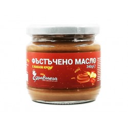 Peanut butter, with cocoa cream, Zdravnitza, 340 g
