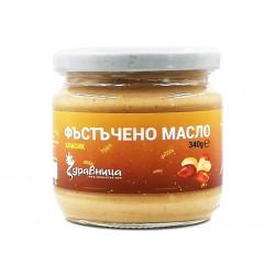 Peanut butter, classic recipe, Zdravnitza, 340 g