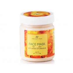 Face Mask for dry skin with Calendula extract, Hristina, 200 ml