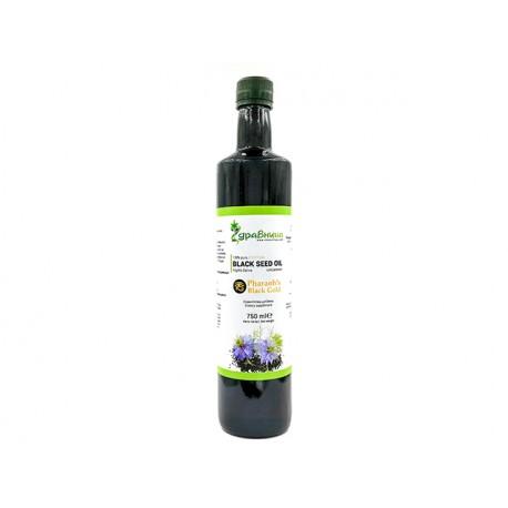 Египетско масло от черен кимион, Здравница, 750 мл.