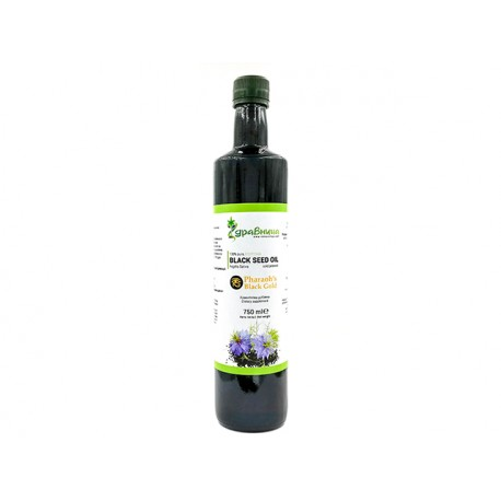 Egyptian Black seed oil, cold pressed, Zdravnitza, 750 ml