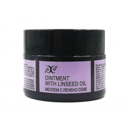 Oinment with linseed, for inflamed skin, Hristina, 40 ml