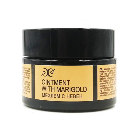 Oinment with marigold, for dry and normal skin, Hristina, 40 ml