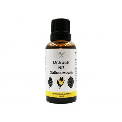 Dependence, Dr. Bach flower elixir №7, Jo&Jo, 30ml