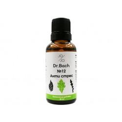 Anti-Stress, Dr. Bach flower elixir №12, Jo&Jo, 30ml