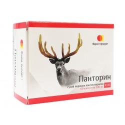 Pantorin, reindeer horns powder, 60 capsules