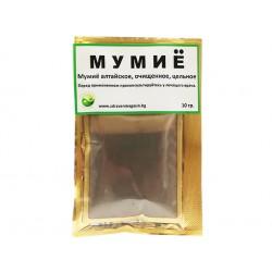 Алтайско, пречистено мумийо на прах, 10 гр.