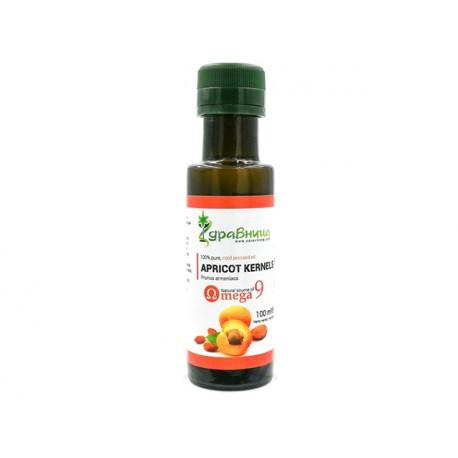 Apricot kernel oil, cold pressed, Zdravnitza, 100 ml