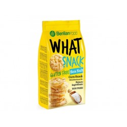What Snack - sea salt, gluten free, 50 g