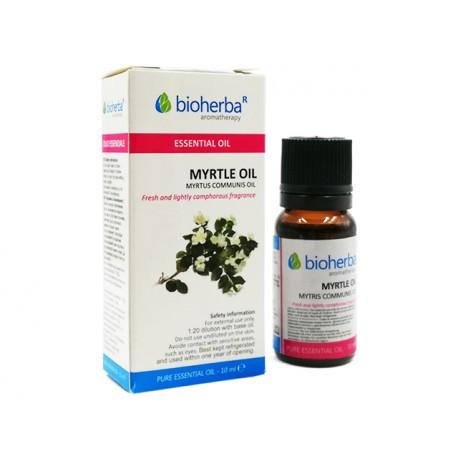 Myrtle, pure essential oil, Bioherba, 10 ml