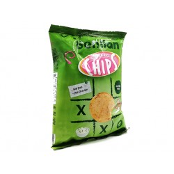 Corn and Rice Chips - sour cream and chive, Benlian, 50 g