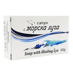 Natural soap with black sea lye, 100 g