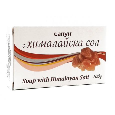 Натурален сапун с хималайска сол, 100 гр.