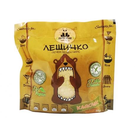 Baked Lentil Chips - Classic, Papa Bear, 50 g