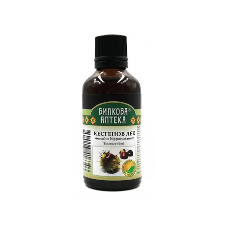 Chestnut remedy, herbal tincture, Bioherba, 50 ml