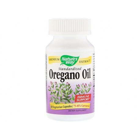 Oregano oil, standardized, Nature's Way, 60 capsules