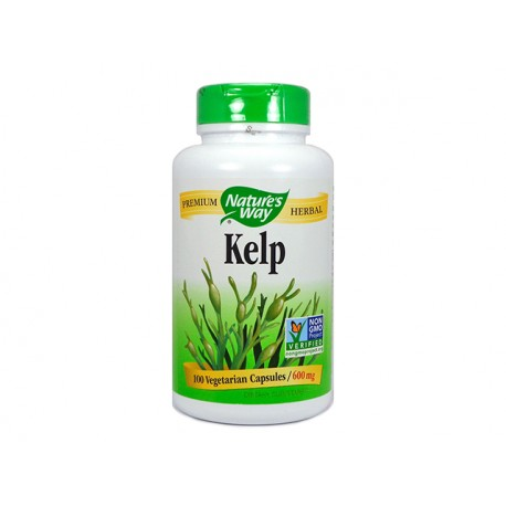 Kelp, Nature's Way, 100 vegetarian capsules
