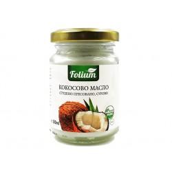 БИО Кокосово масло, студено пресовано, Фолиум, 150 мл.